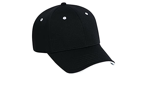 c0c9f3818e5 Otto A-Flex Stretchable Polyester Q-Max Cool Mesh Low Profile Pro Style  Caps at Amazon Men s Clothing store