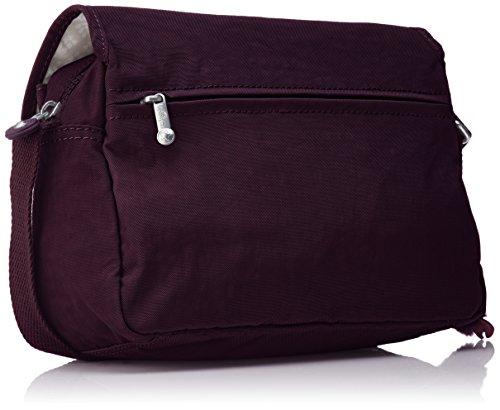 Morado Kipling Purple Bolsos Plum Mujer Cayleen bandolera rIqUr