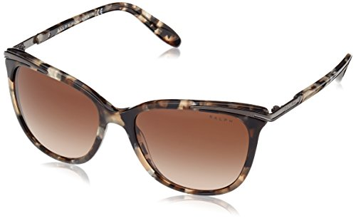 Ralph by Ralph Lauren Women's 0ra5203 Cateye Sunglasses, BROWN MARBLE, 54.0 mm (Ralph Lauren Sunglasses)