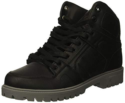 Osiris Men's NYC 83 DCN Boot Skate Shoe, Black/Grey, 7 M US (Black Osiris Top Shoes High)