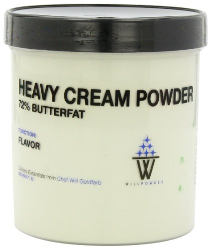 WillPowder HEAVY CREAM POWDER, Flavor Agent, Molecular Gastronomy and Modernist Cuisine, 1 LB by weight