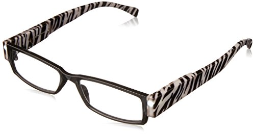EVIDECO LED Reading Glasses with Light, LG Zebre Optic By Finess Power +2