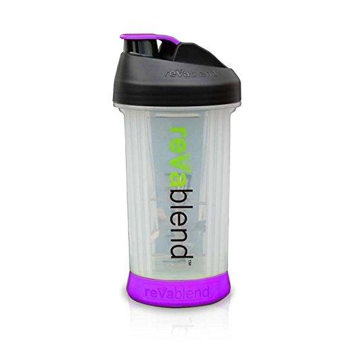 Revablend Non-Electric Portable Blender, 16 Ounce, Purple For Sale