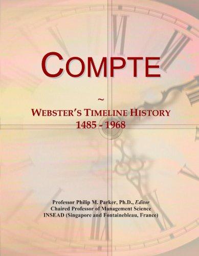 Compte: Webster
