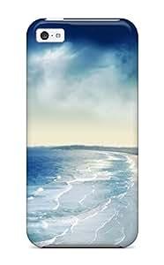 XiFu*MeiRene Kennedy Cooper's Shop Hot New Coastal Sunset Tpu Case Cover, Anti-scratch Phone Case For ipod touch 5XiFu*Mei