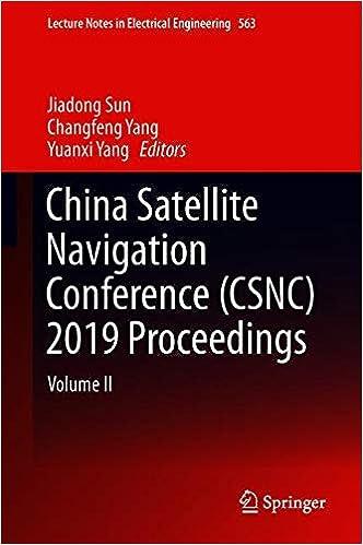 Libros Para Descargar En China Satellite Navigation Conference (csnc) 2019 Proceedings: Volume Ii Como PDF