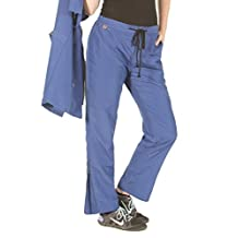 Ladybird Line Grooming Pants Ideal for Pet Groomers Repellent and Water Resistant Blue (Large)