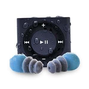Waterfi iPod Shuffle - iPod Shuffle 4G de 2 GB resistente al agua (incluye auriculares y cintas)