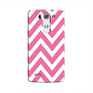 Cover It Up Bubblegum Strip Hard Case For LG G3 - Pink & White