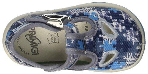 Primigi Pbb 7515, Botines de Senderismo para Bebés Azul (Azz-bco-blu)