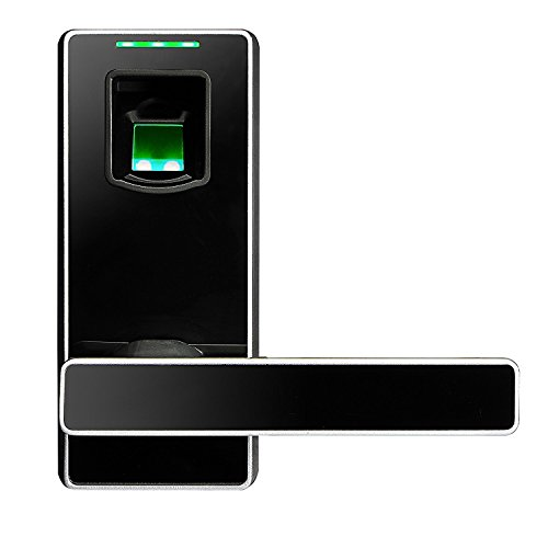 ZKTeco Electronic Biometric Fingerprint Keyless Door Lock Digital Security Smart Lever door Locks for Bedroom Apartment Office by ZKTeco