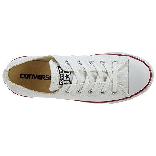 Converse Chuck Taylor All Star Dainty Ox óptico blanco 537204C Womens 11