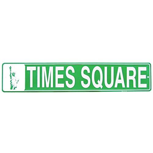 Times Square Metal Street Sign US Made NYC Souvenir Bar Pub Wall Decor ()