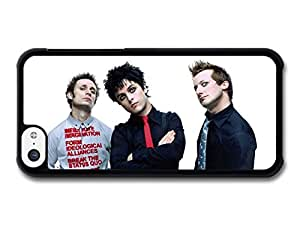 Green Day Punk Rock Band Shirt Print case for iPhone 5C A4438