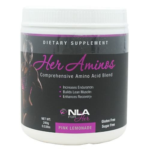 NLA For Her Her Aminos Pink Lemonade Diet Supplement