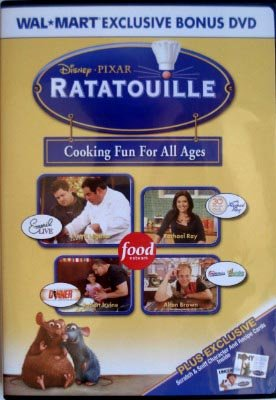 Ratatouille Bonus DVD