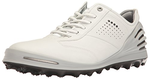 ECCO Men's Cage Pro Golf Shoe, White, 44 EU/10-10.5 M US 133004