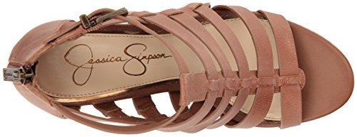 Jessica Simpson Women's Jeyne Wedge Sandal Burnt Umber sale official tHp1ZHPN