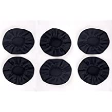 3 Pair High Quality Cloth Ear Cover for Pilot Aviation Headset