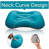 Camping Pillow Outdoor Ultralight Inflatable Portable Comfotable for Your Neck and Waist Support