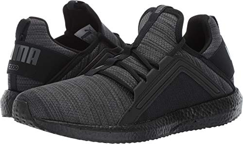 PUMA Men's MEGA NRGY Knit Sneaker, IronGate-Black, 8 M US (Minion Men Slippers)