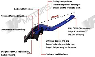 CNC Adjustable 170mm Long Brake Clutch Levers for Yamaha Majesty 400 2004-2014