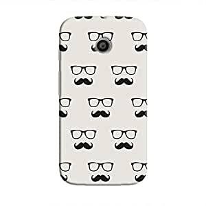 Cover It Up - Hipster Stickers Moto EHard Case