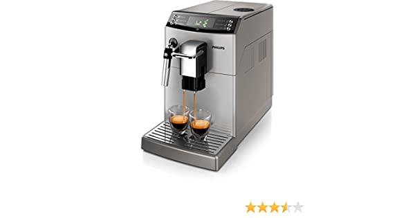 Philips 4000 series HD8841/11 - Cafetera (Independiente, Máquina espresso, 1,8 L, Molinillo integrado, 1850 W, Plata): Amazon.es: Hogar