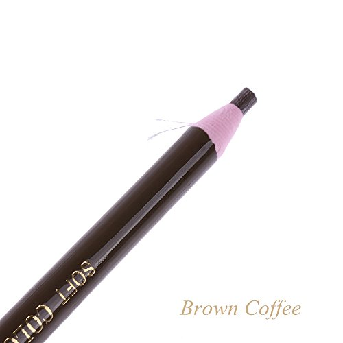 1PC Waterproof Microblading Permanent Makeup Eyebrow Lip Design Eye Brow Positioning Lip Tattoo Pen Pencil Tools Black Coffee Brown Coffee