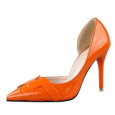 Ryse Women's Fashionable Delicate Leather Elegant Thin High Heels Pointy Shoes