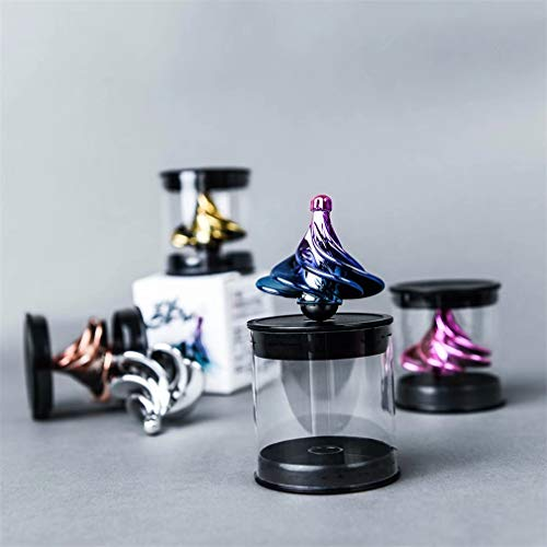 DREZEA Spinning Top Fingertip Gyroscope Wind Blow Gyro Desktop Airflow Spinning Gyro Decompression Toys Gift for Kids Adultso