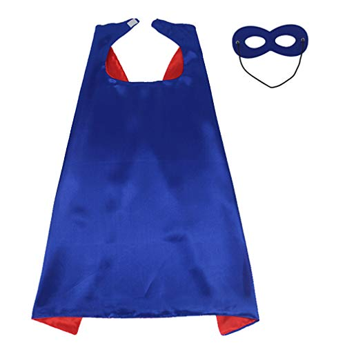 Superhero Capes and Mask Set for Kids Halloween