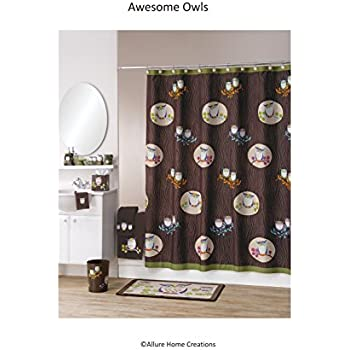 Amazon Com Owl Bath Accessories 6 Piece Collection