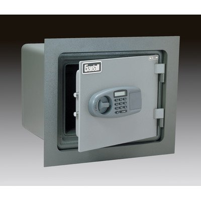 1-Hour Fireproof Wall Safe Lock Type: Group II Combination and Key Lock, Orientation: Horizontal