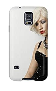 New Style Abikjack Hard Case Cover For Galaxy S5- Christina Aguilera