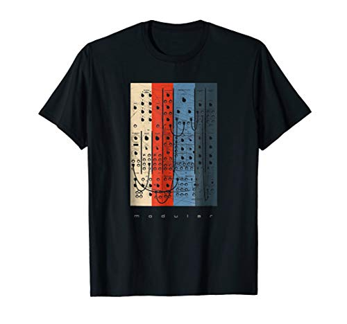 Vintage Modular Synthesizer - Analog Synth Nerd T-Shirt