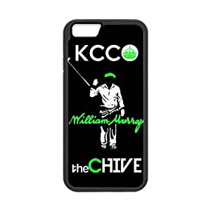 KCC William Murray the CHIVE Cell Phone Hard Case for iPhone 6(4.7) Plastic and TPU (Laser Technology)