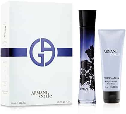 Giorgio Armani Code 2 Piece Set For Women