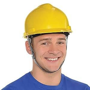 Amscan Construction Hat Head Wear/Gear