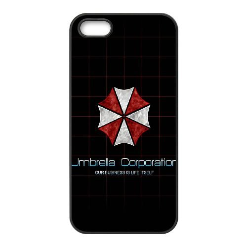 Umbrella Corporation Logo cas SC23CV8 coque iPhone 5 5s de téléphone cellulaire coque N4UG4P3LG