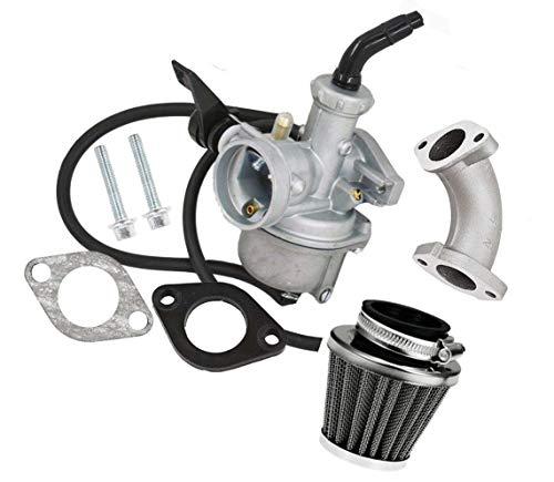 (ORIPO Carburetor & Intake Manifold Boot Air Filter For Honda CRF70 XR70R)