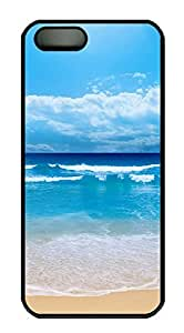 iPhone 6 4.7 Case Blue Beach PC Custom iPhone 6 4.7 Case Cover Black