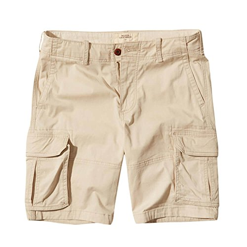 Hollister Men's Khaki Cargo Shorts Epic Flex Cargo Fit HCO 10