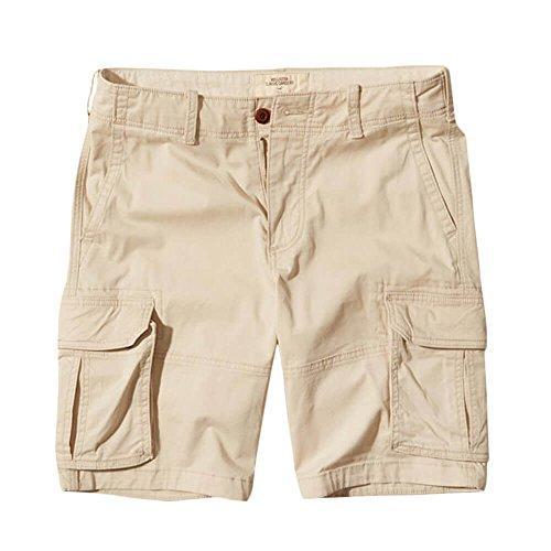 Hollister Men's Khaki Cargo Shorts Epic Flex Cargo Fit HCO 10