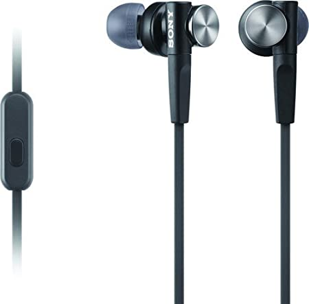 Review Sony MDRXB50AP Extra Bass Earbud Headset (Black)