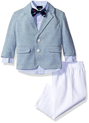 Nautica Little Boys' Suit Set Jacket, Pant, Shirt Tie