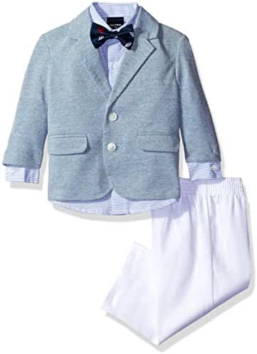 Nautica Baby Boys' Blazer and Dress Pant Set with Woven Shirt