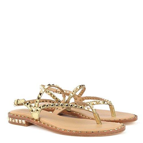 ASH Ariel Gold Schuhe Damen Sandalen Peps Footwear aYawr0