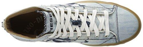 Diesel Y00023 P1239, Zapatillas para Hombre Azul (Indigo /               Blue)