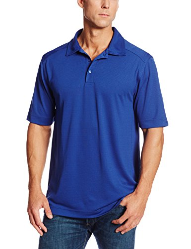 Cutter & Buck Men's Big-Tall Cb Drytec Genre Polo Shirt, Tour Blue, 4XB (Shirt Golf National Sport)